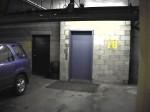 Parking garage elevator