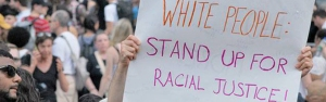 White people stand up for racial justice